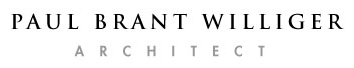 paul williger architect logo